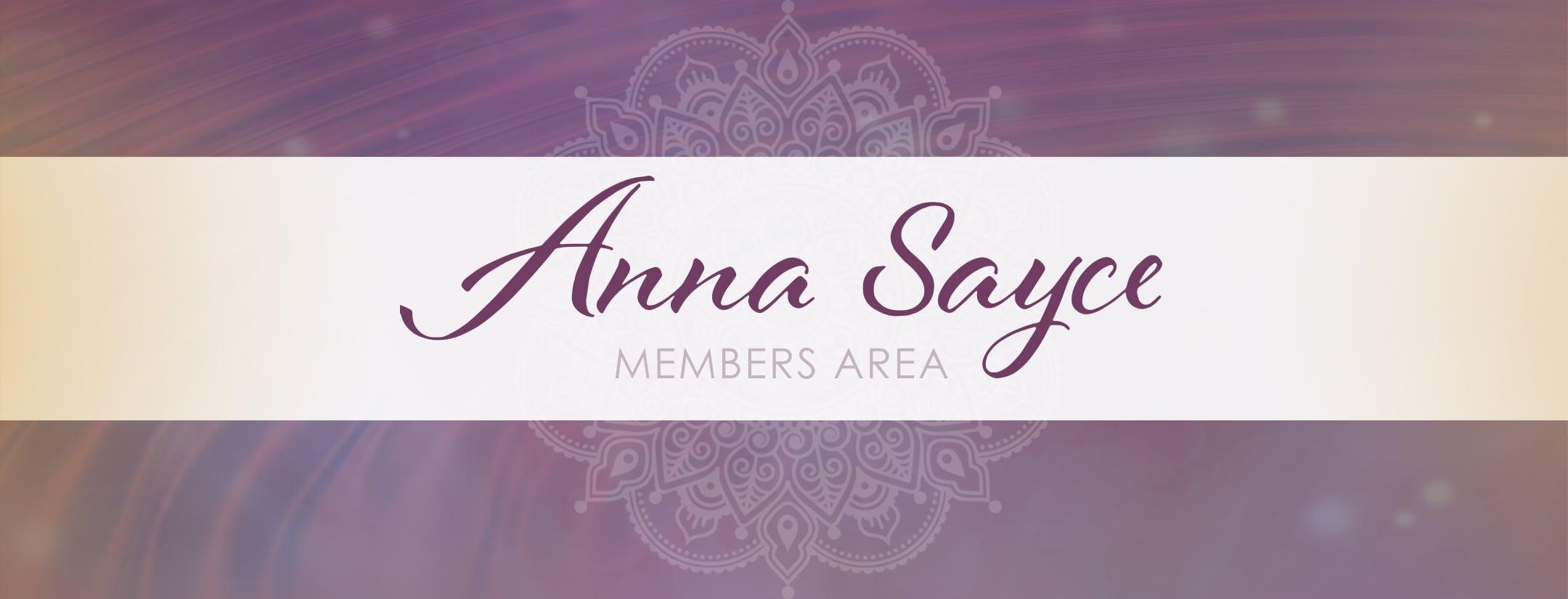 Members Area Banner